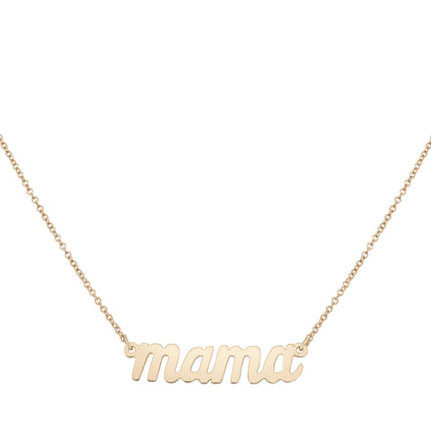 Mama Necklace - Bianca Pratt Jewelry