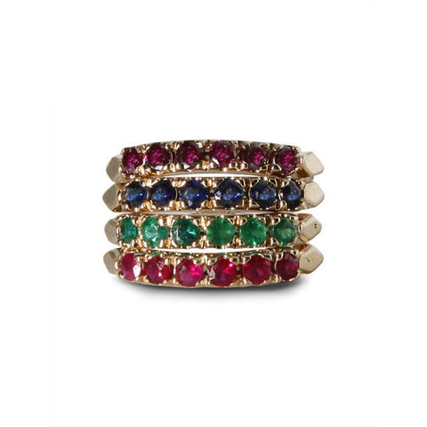 Autumn Stack Ring Set - Bianca Pratt Jewelry