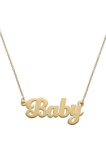 Baby Necklace - Bianca Pratt Jewelry