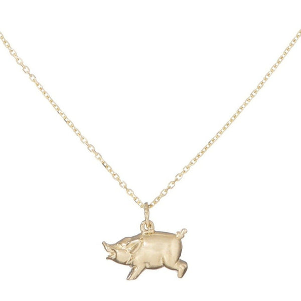 Pig Necklace - Bianca Pratt Jewelry