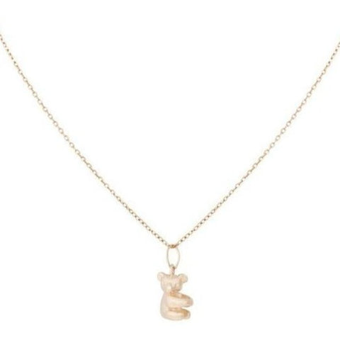 Horizontal Koala Necklace - Bianca Pratt Jewelry