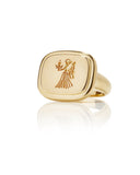 Virgo Zodiac Ring - Bianca Pratt Jewelry