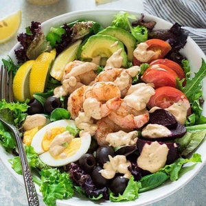 Grilled Shrimp Louie Salad