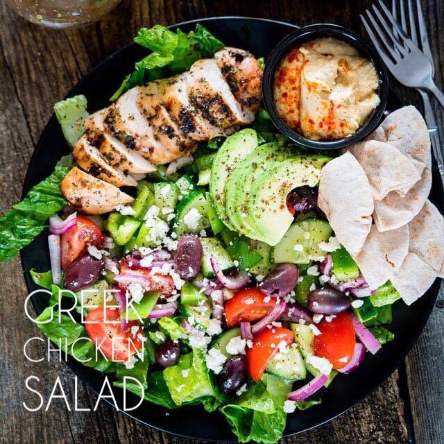Greek Chicken Salad - The Custom Plate formerly Mercer Island Paleo Kitchen