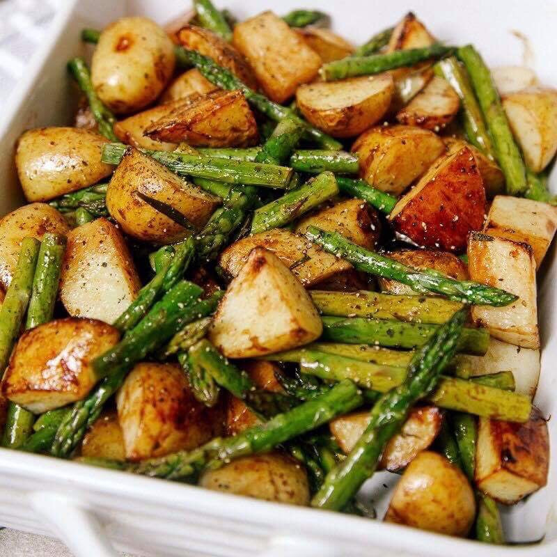 Turmeric Roasted Green Beans and Potato - The Custom Plate formerly Mercer Island Paleo Kitchen