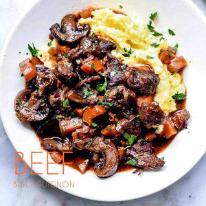 2/26 TUESDAY DINNER  BEEF BOURGUIGNON - The Custom Plate formerly Mercer Island Paleo Kitchen
