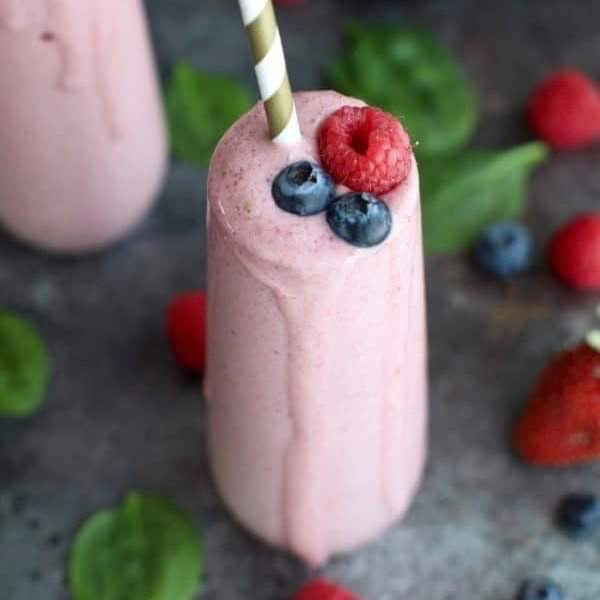 August 14 Friday Breakfast Strawberry Banana Protein Smoothie Kit