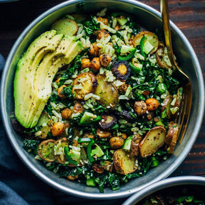 Kale Pesto Buddha Bowl - The Custom Plate formerly Mercer Island Paleo Kitchen