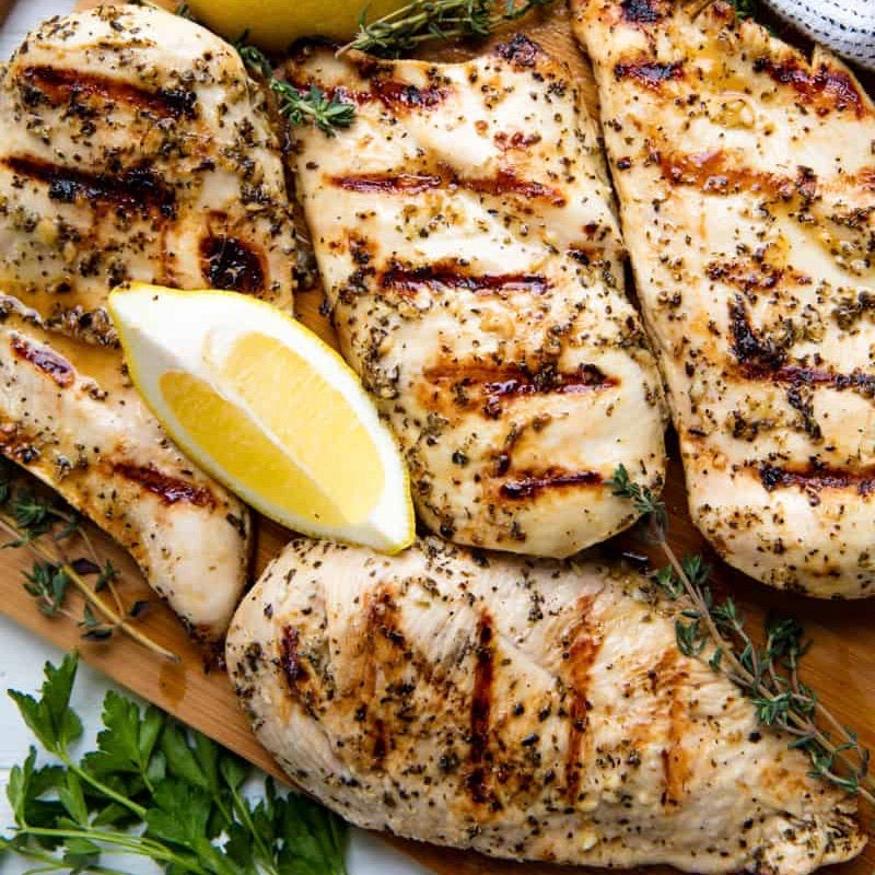 Grilled Chicken Breast (add on to any order)