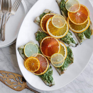 Dinner Friday, June 28 Roasted Branzino - The Custom Plate formerly Mercer Island Paleo Kitchen