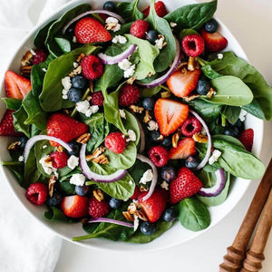Lunch Monday, October 21  Berry Chicken Salad With Meyer Lemon Vinaigrette