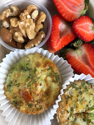 Mini Vegetable Frittatas - The Custom Plate formerly Mercer Island Paleo Kitchen
