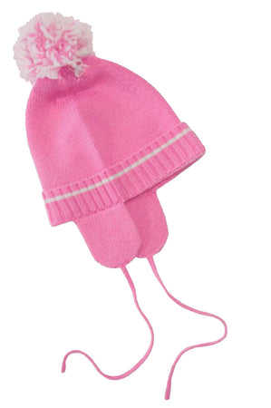 643a058a529 Girl Bow Detail Pure Cashmere Hat