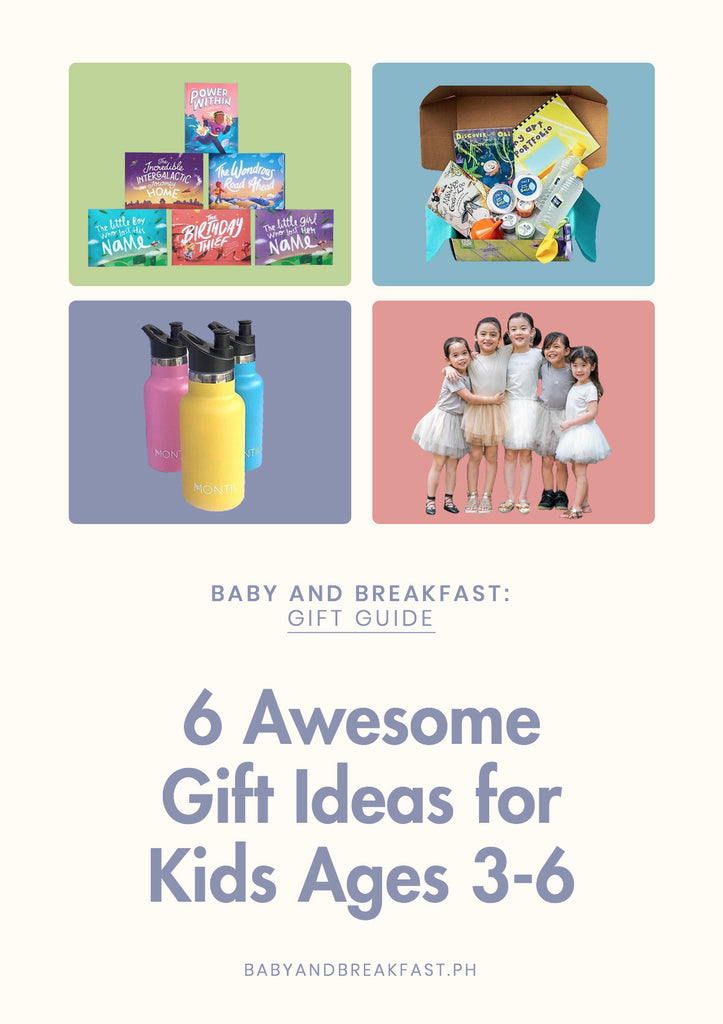 6 Awesome Gift Ideas for Kids Ages 3-6