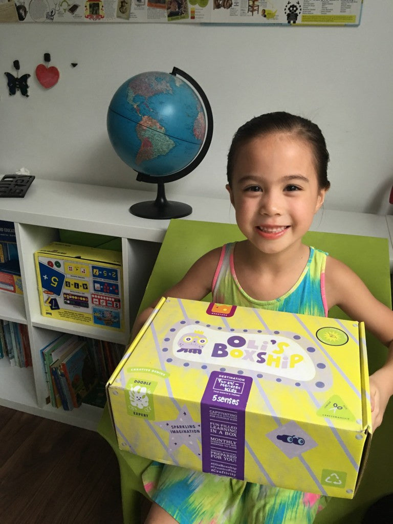 Oli's Boxship Unboxing by Joy T. Mendoza