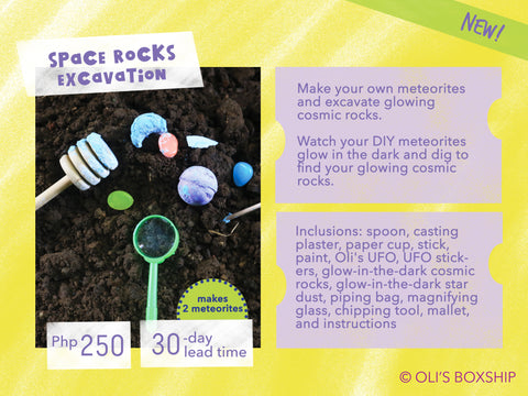 Space Rocks Excavation