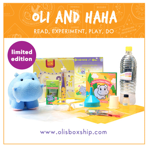 Oli and Haha Immersive Play Set
