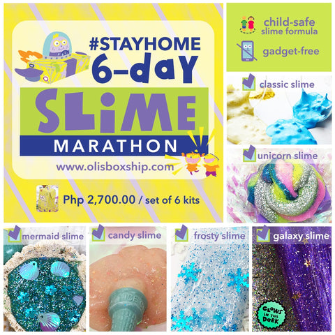 Slime Marathon - set of 6