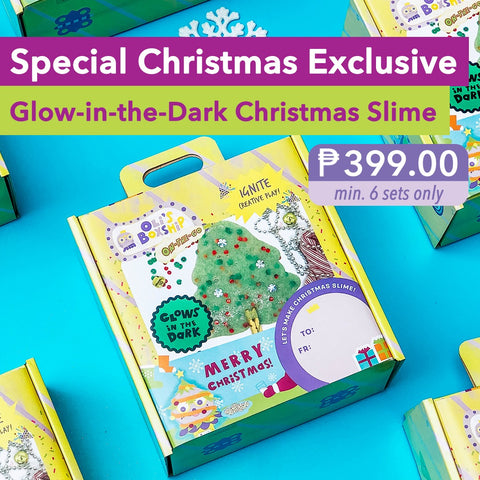 Christmas Glow-in-the-Dark Slime (Pre-Order)