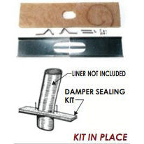 Damper Sealing Kit - Chimney Liner