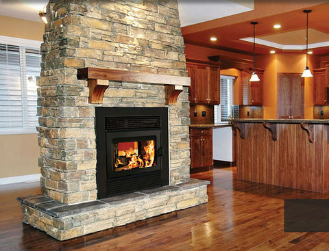Ventis HE250 Zero Clearance Wood Fireplace Cheap Chimney