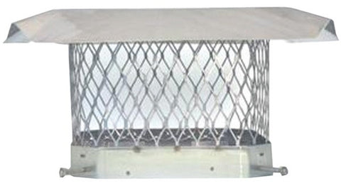HY-C Shelter Pro Stainless Single Flue Cap - Chimney Liner