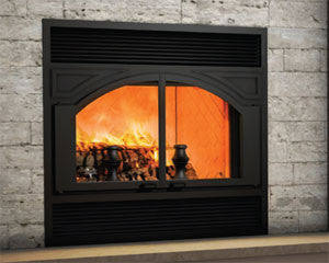Ventis ME300 Zero Clearance Wood Fireplace - Chimney Liner