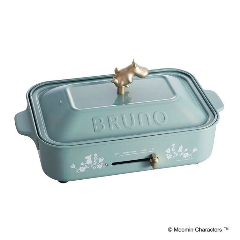 BRUNO x MOOMIN Compact Hot Plate ( display item, discounted price for sale)