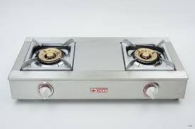 Crown LPG Stainless Steel Double-burners