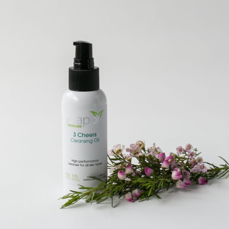 Happy Skincare '3 Cheers' Cleansing Oil 100ml