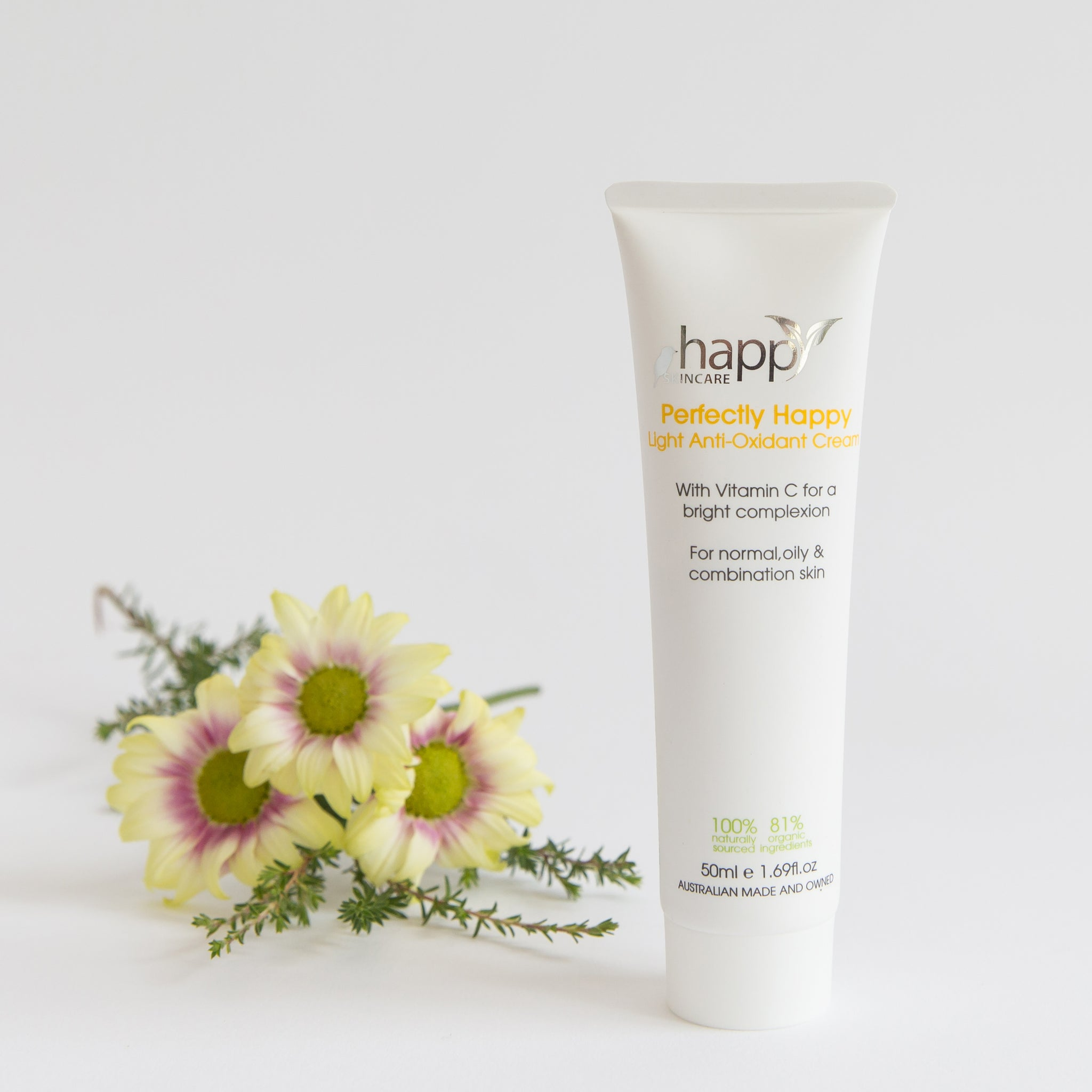 Happy Skincare 'Perfectly Happy' Light Anti-Oxidant Cream 50ml