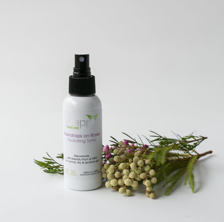 Happy Skincare 'Raindrops on Roses' Hydrating Tonic 100ml