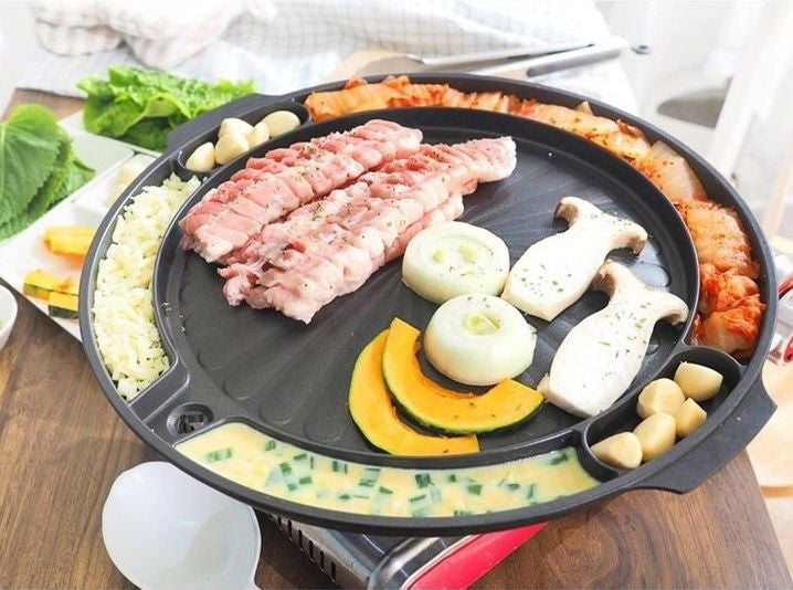 Queen Sense Korean Stove-Top BBQ Pan