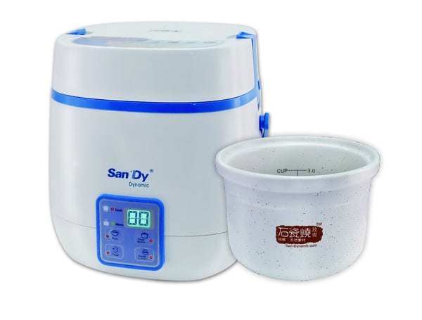 San Dynamic Mini Ceramic Pot-Rice Cooker