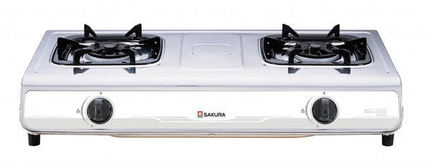 Sakura LPG Double Burners Table Top Gas Cooker