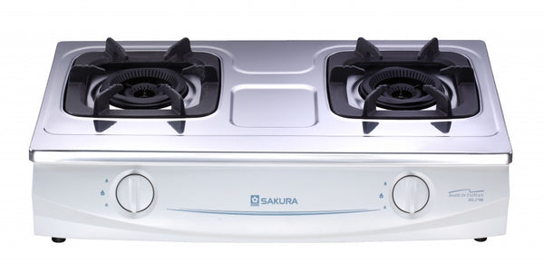 Sakura Town Gas Double Inner Flame Burners Table-Top Cooker