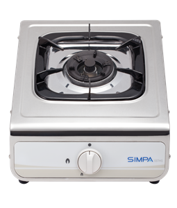 Simpa Town Gas Single Burner Hotplate