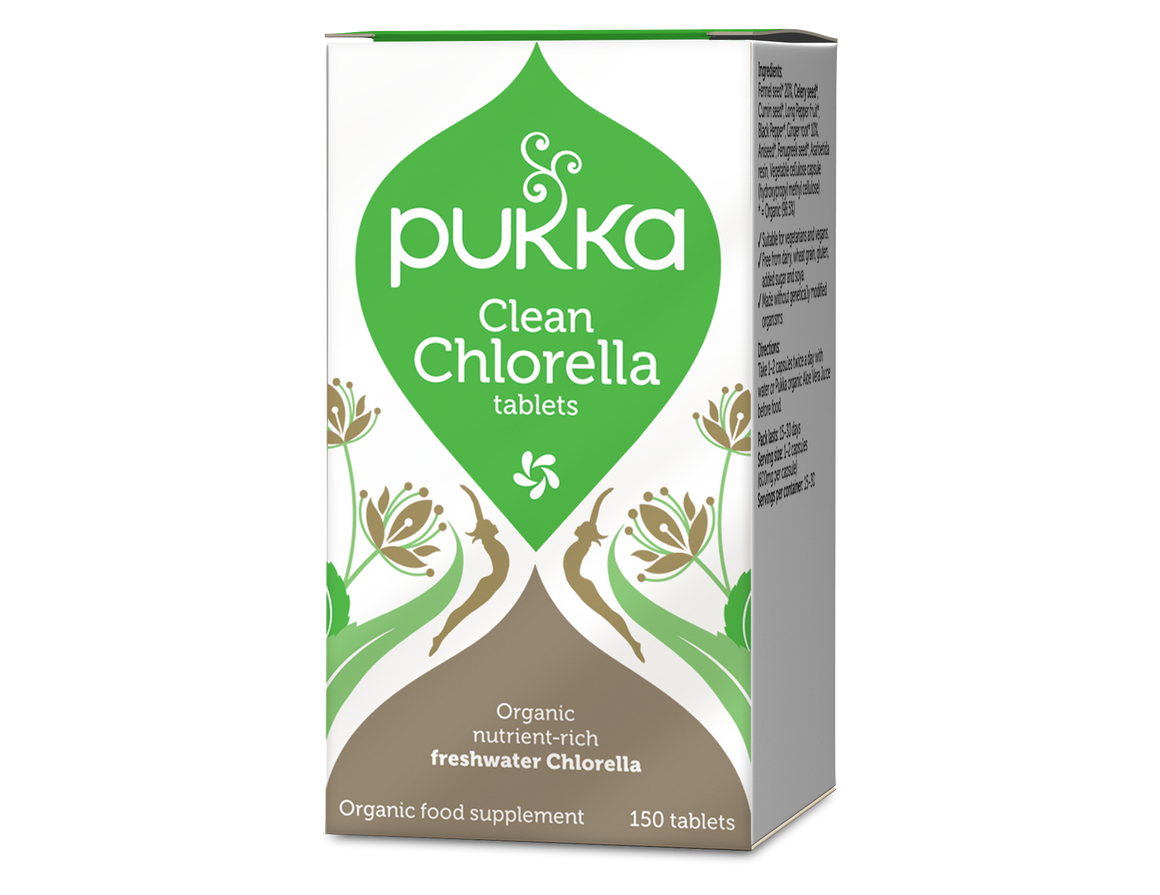 Clean Chlorella (150 tablets)