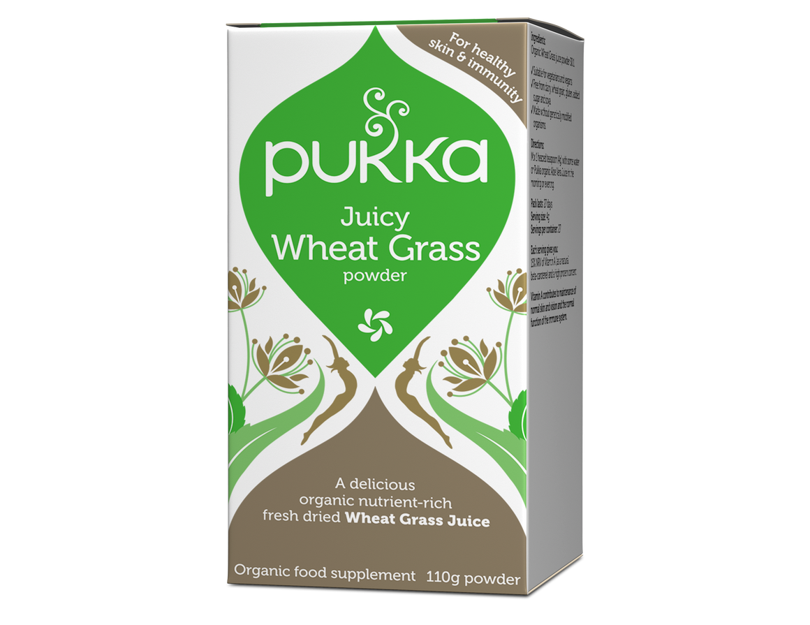 Juicy Wheat Grass 110g