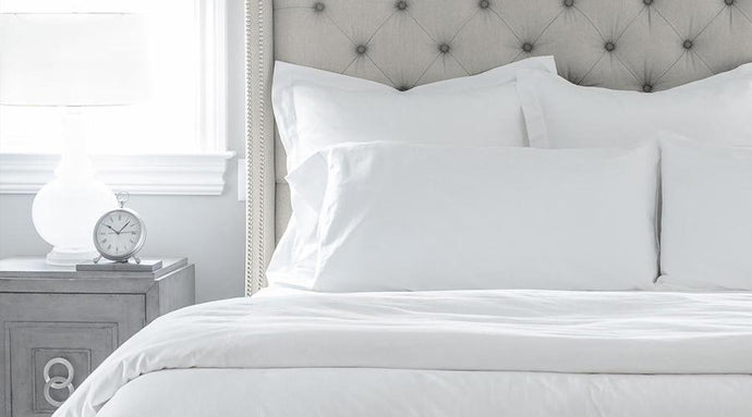 White Double Size luxury sheet set, quilt cover & pillowcases
