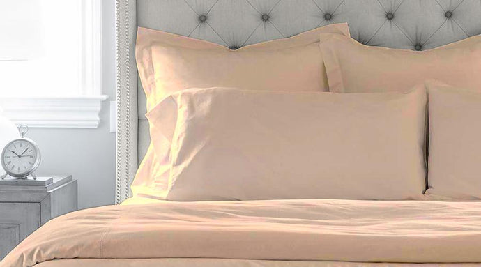 Latte King Size luxury quilt cover & pillowcases