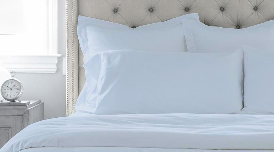 Sky Blue King Size luxury sheet set, quilt cover & pillowcases