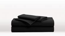 Black Double Size Luxury Sheet Set