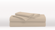 Cream Single Size Luxury Sheet Set