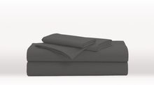 Dark Grey Double Size Luxury Sheet Set