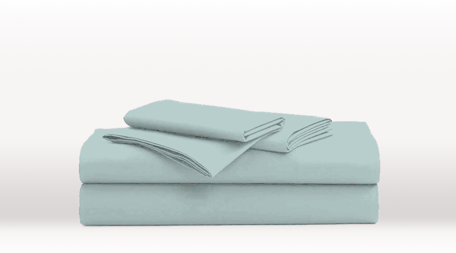 Aqua King Size Classic egyptian cotton sheet Set