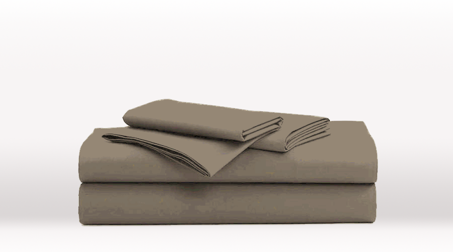 Grey King Single Size Classic egyptian cotton sheet Set