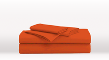 Orange Queen Size Classic Sheet Set