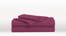 Purple Queen Size Classic Sheet Set