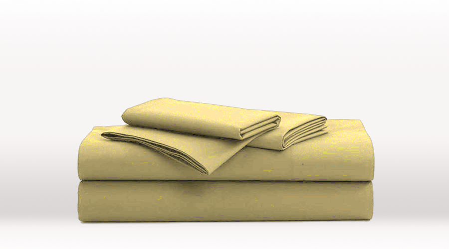 Taupe Single Size Classic egyptian cotton sheet Set